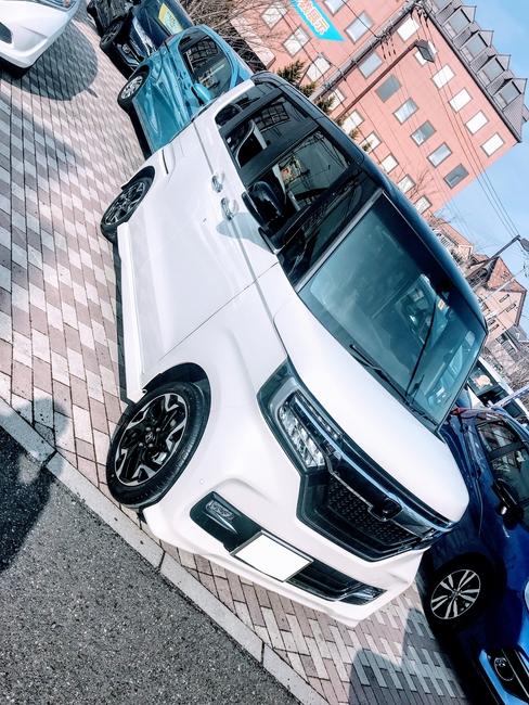 新型N-BOXカスタムターボ納車~^^納車式やすこし走ってみての感想など♪