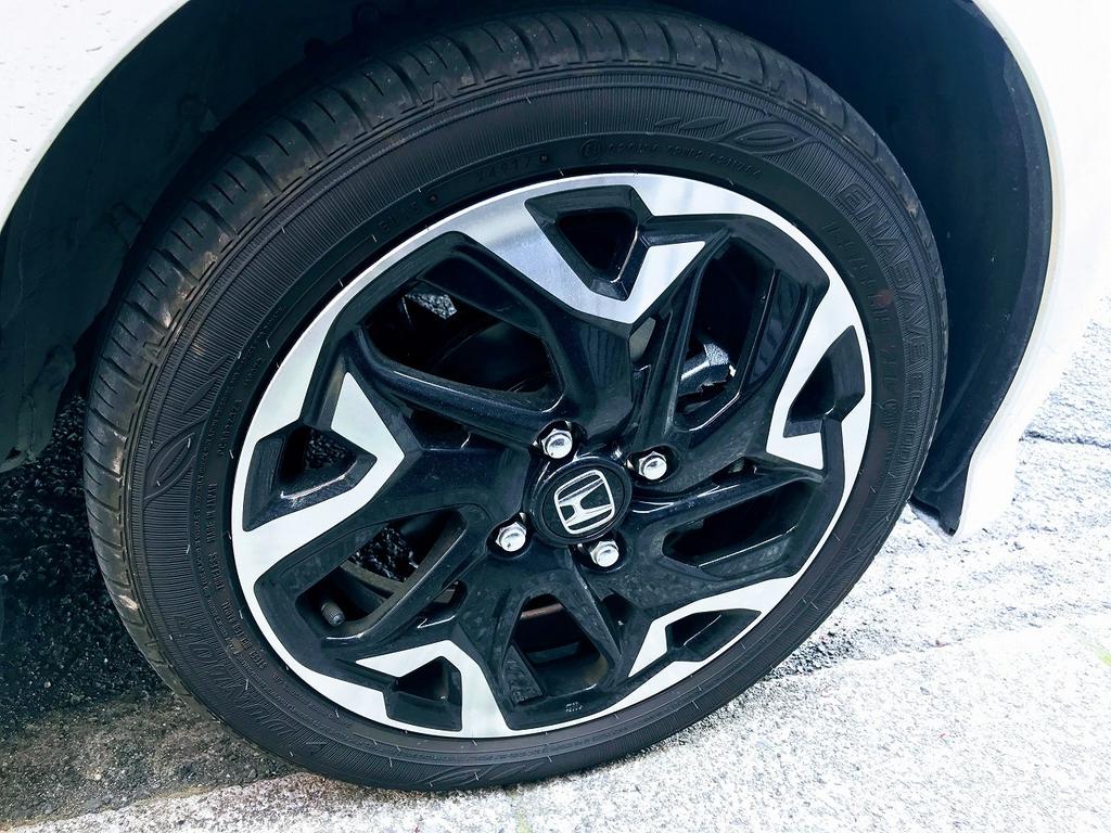 新型N-BOXカスタムターボの15インチタイヤの乗り心地について