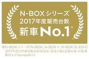【祝】「N-BOX」が22万台販売で2017年度 新車販売台数 第1位!【N-BOX発売以来の歩み・年間販売台数推移】