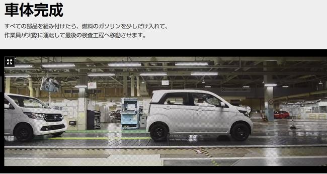 公式HPでHONDAの自動車製造工程が見れるサイト「クルマができるまで」でN-WGNが製造されていく工程が見られます♪
