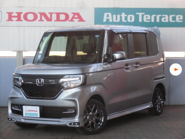 無限フルエアロのホンダ新型N-BOXカスタムターボの新古車(未使用車)が販売中!