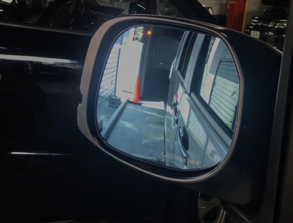 新型N-BOXカスタムの契約時につけた無限オプションパーツPart.1「Hydrophilic LED Mirror」