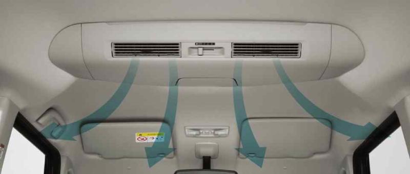 新型N-BOXは夏場に後部座席にエアコンが届きづらいのがちと辛いかも^^;