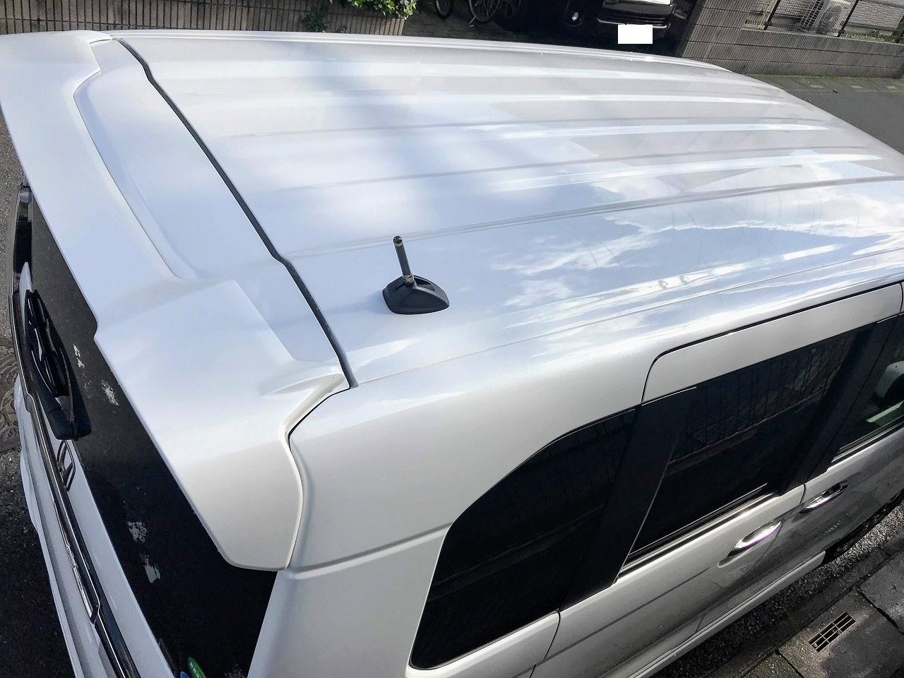 新型N-BOXの屋根の黒いモールを無くした最新技術「ルーフ・レーザー・ブレーズ」