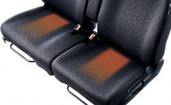 N-BOX/N-BOXカスタムの4WDモデルに標準装備の運転席&助手席シートヒーターが羨ましい^^;