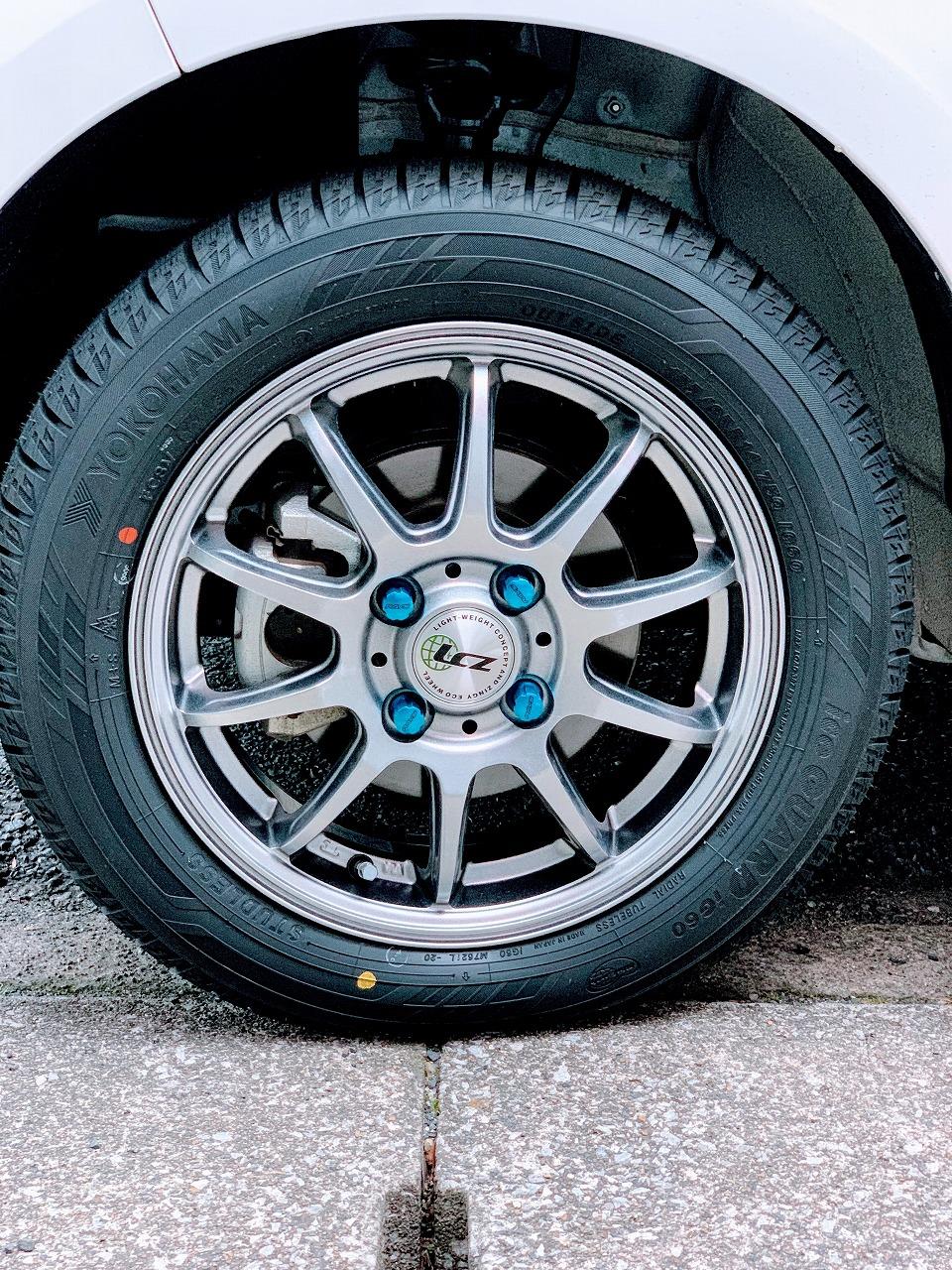 N-BOXカスタムに履いたヨコハマ・アイスガード6(スタッドレスタイヤ)のドライ路面や高速道路での性能について軽くレビュー^^