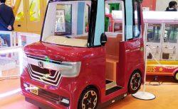 赤×黒ツートンカラー「N-BOXカスタムターボ」がショッピングセンターのゲームコーナーに登場!ホンダライセンス取得で再現度が凄い^^