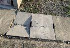 N-BOX駐車場前の側溝の蓋にヒビが入っていて危なかったので市役所に連絡したら速攻で交換対応してくれました^^