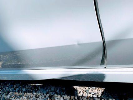 愛車N-BOXカスタムのリアスライドドアをヘコませてしまい凹む><からのデントリペアにて完全復活^^