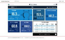 【N-BOXカスタムターボ(JF3)】2019年3月の走行距離・燃費記録[Honda Total Care]