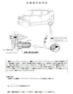 「N-BOXスラッシュ」が電動パーキングブレーキ不具合で4万3000台がリコール!駐車ブレーキが作動しなくなったり解除できなくなるおそれがあるそうです