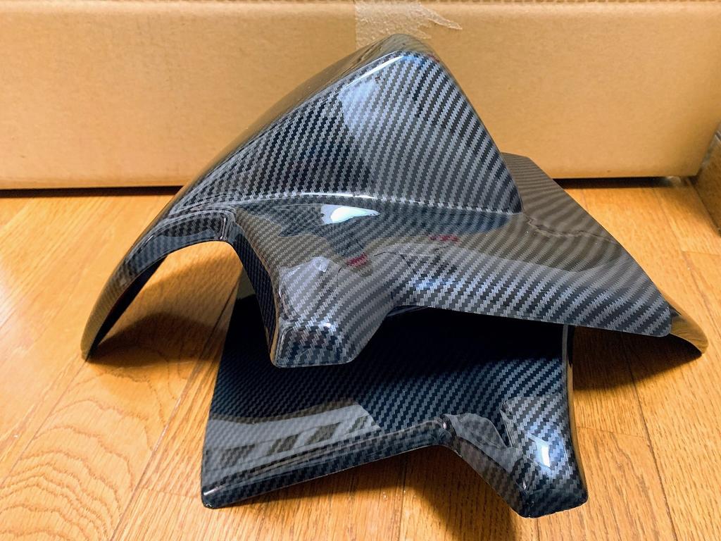 N-BOXカスタム(JF3,JF4)用の猫耳パーツ!リアウイングスポイラーが到着♪開封&質感チェック!