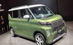 N-BOXのライバル車!三菱新型eKスペースが東京モーターショーで世界初公開されました!