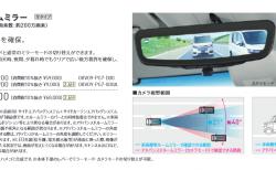 N-BOXにも取り付け可能なカメラ映像で後方確認できる新型アドバンスドルームミラー発売!価格が・・・