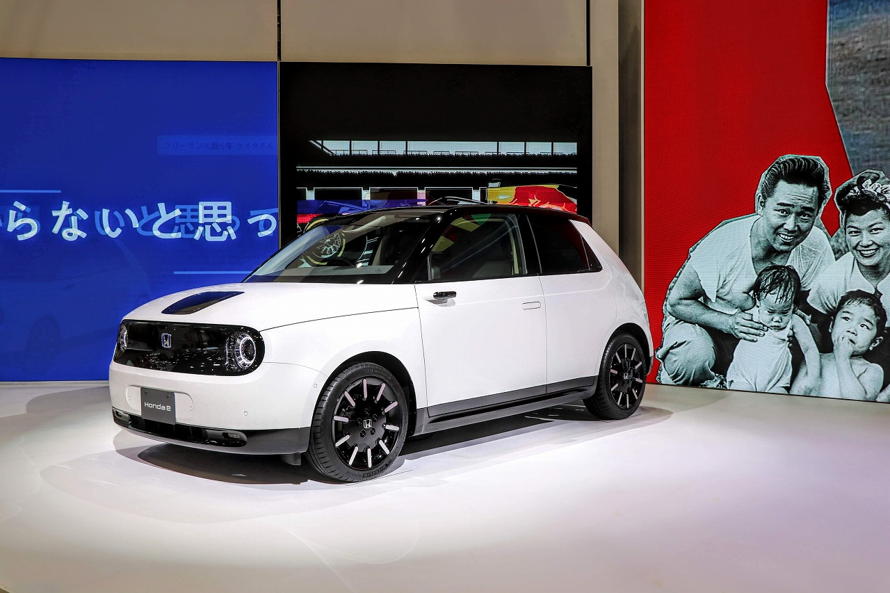 ホンダ新型EV「Honda e(ホンダ イー)」の注文受付一時停止!第1期販売予定台数完売!