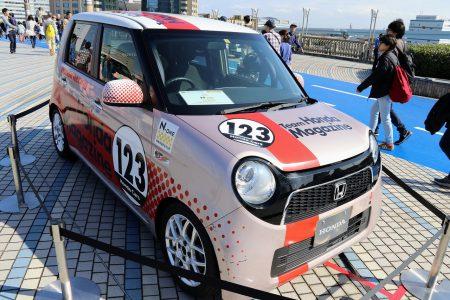 【東京モーターショー2019観覧レポート】オープンロードには「N-ONE」ワンメイクレースモデルやゴールドカラーの「GT-R ボルトスペシャル」や黄金のフェラーリも^^