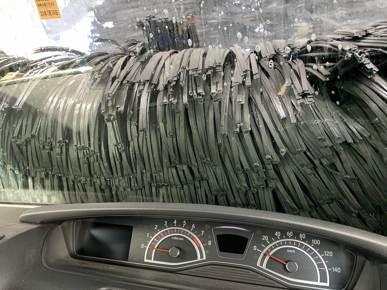 N-BOXカスタム新年初洗車!雪道の塩カルを落とすために下回り洗車しました^^