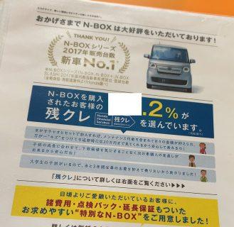 N-BOX・N-BOXカスタム契約・購入時の「残クレ」選択率は、●●%だそうです。メリット・デメリットは?