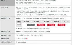 N-BOX純正ナビ「VXU-185NBi」の方は無料ナビ更新はラスト1回を残すのみ。有償価格は?