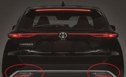 トヨタ新型ハリアーのリアウインカーの位置はデザイン重視!ホンダなら安全重視だろうなあ