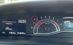 最近愛車N-BOXカスタムの低水温表示灯がよく点灯するので調べてみました^^;