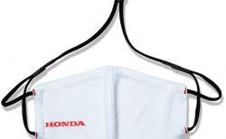 ホンダロゴ入りネックストラップ一体型「Hondaオリジナルマスク」発売開始!マスクケースも同時発売。
