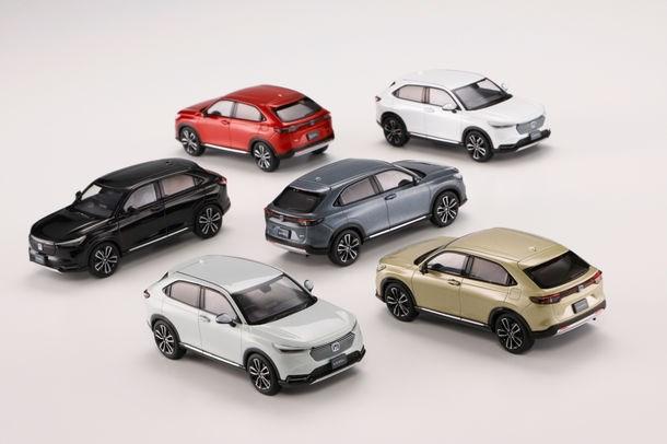 一度限りの限定生産モデル!新型ホンダ・ヴェゼルの1/43(約10cm)スケールミニカーがHobby JAPANから発売で予約受付開始!