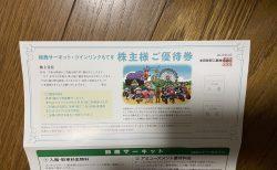 ホンダから鈴鹿サーキット・ツインリンクもてぎ株主優待券が届きました(^^)
