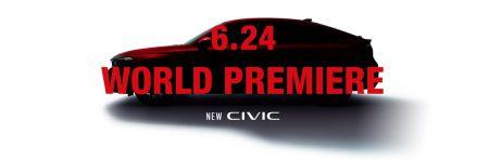 ホンダが新型「CIVIC(シビック)」ハッチバックの公式ページを公開!2021年6月24日(木)ワールドプレミア!!