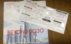 ホンダ株主優待のレターが届きました(^^)2022年HondaカレンダーやSUPER GTレース招待など。