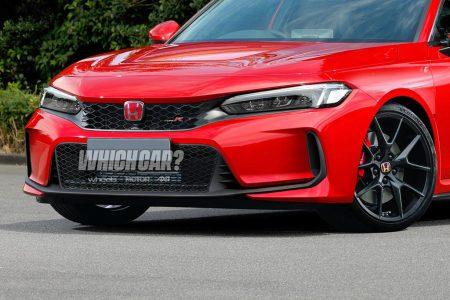 ホンダ公式の赤迷彩 新型シビックタイプRのカモフラージュを剥がしたレンダリング画像が公開!